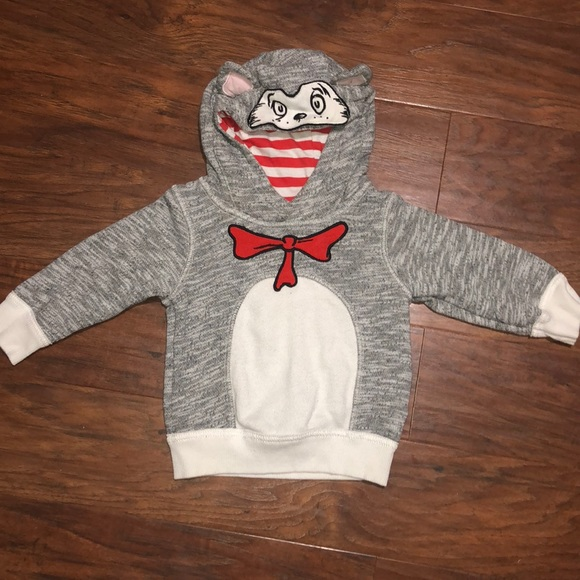 a62e78ef611 Cat in the Hat Dr. Seuss Infant Pullover